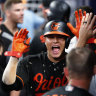 Manny Machado, pictured here during his time at the Orioles, has agreed to a massive deal with the Padres.