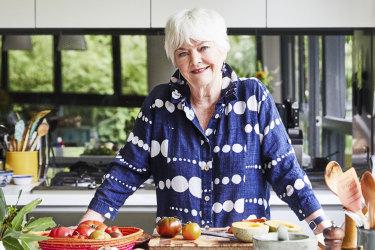 Stephanie Alexander in her home kitchen