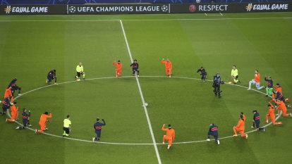 Neymar bags three in suspended Champions League clash, Madrid through