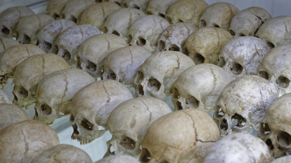 Mass grave believed to contain 30,000 bodies found in Rwanda