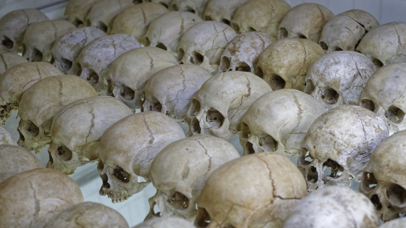 Mass grave 'with 30,000 our bodies' found in Rwanda