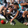 From the Archives, 2007: Port end Geelong's winning streak in a thriller