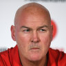 Under-siege Dragons coach Paul McGregor.