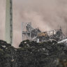 Razed Alcoa plant requires six-month clean-up
