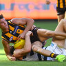 Mighty, fighting and lacking polish: Hawks win in defeat