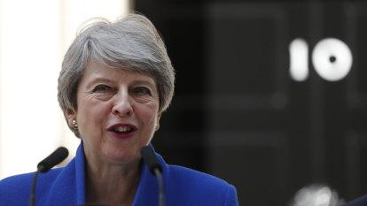Theresa May backs Johnson's Brexit deal