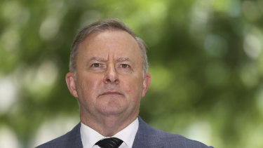 "Anthony Albanese says he is ""all about jobs"" following the COVID-induced recession and will continue to promote the participation of women in the workforce."