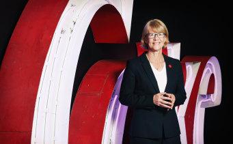Alison Watkins, group managing director of Coca-Cola Amatil.