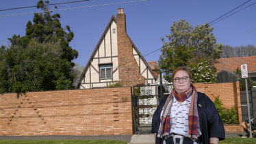 Felicity Watson, from the National Trust, campaigned to save the Esme Johnston house.