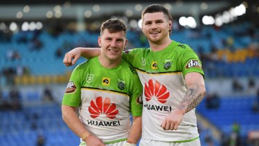 George Williams and John Bateman remain close friends and are in regular contact despite living on opposite sides of the world.