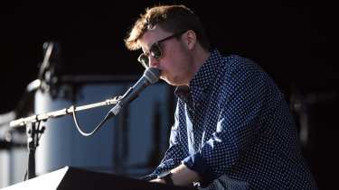 Sheridan opening for Sir Elton at Mt Duneed Estate, near Geelong, on Saturday.