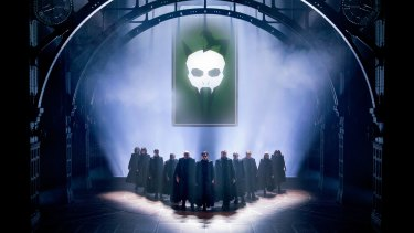 A scene from Harry Potter and the Cursed Child.