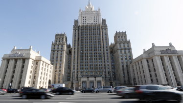 A spokeswoman for the Russian Foreign Ministry, above, Maria Zakharova has said the US and UK are the principal beneficiaries of the Salisbury incident.