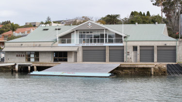The Outterside Centre rowing sheds are owned by the The Sydney High School Foundation.