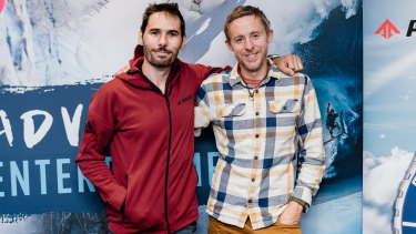 US climbers Tommy Caldwell and Kevin Jorgeson.