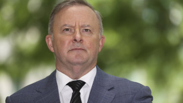 "Anthony Albanese says he is ""all about jobs"" following the COVID-induced recession."