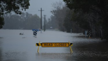 NSW is braced for extreme weather, such as flooding.