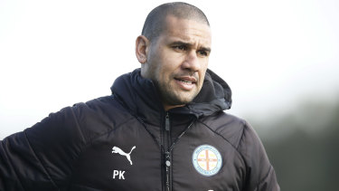 New Melbourne City head coach Patrick Kisnorbo.