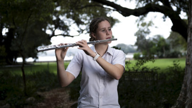Emily Thornton, 18, is a year 12 student at the Conservatorium High School.