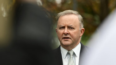 """Anthony Albanese says the government is """"obsessed with its anti-union position""""."""