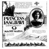 Ad for concert by Princess Rangiriri and her Maori Maids. June 12, 1925