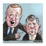 John Coates and Matt Carroll
