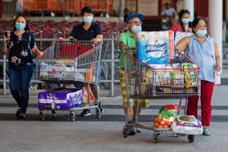 Shoppers in Victoria did the heavy lifting to get the Australian economy back to its pre-pandemic size.