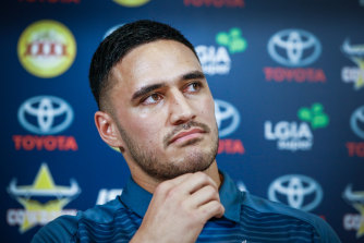 Ready: Valentine Holmes has signed a six-year contract with the Cowboys.