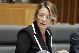"Labor's Deputy Senate Leader Kristina Keneally said Senator McKenzie had ""fired a warning shot across Prime Minister Scott Morrison's bow""."