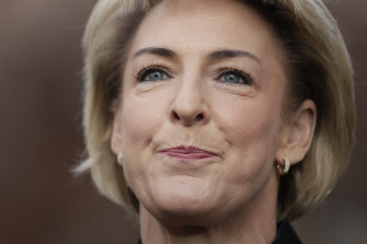 Minister for Employment, Skills, Small and Family Business Michaelia Cash.