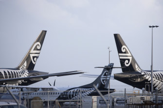 Air New Zealand has cancelled flights from Australia for the next couple of weeks.