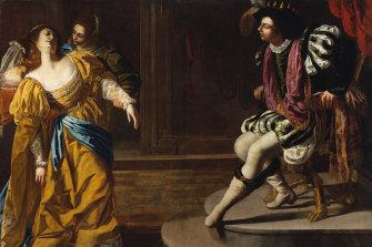 Esther before Ahasuerus by Artemisia Gentileschi.