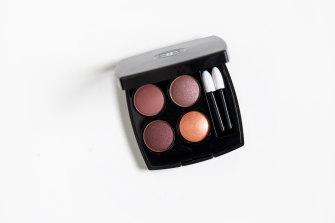 Chanel Multi-Effect Quadra Eyeshadow in Warm Memories.