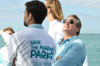 Andrew 'Twiggy' Forrest's has long had a passion for ocean conservation.
