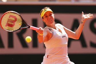 Anastasia Pavlyuchenkova has reached her first grand slam tournament final.