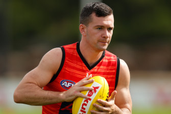 Essendon's Conor McKenna.
