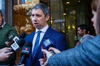 Jack de Belin's lawyer Robert Foster says his client is very relieved.