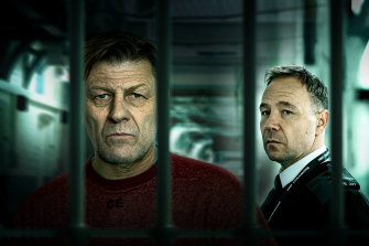 """""""They are my favourite actors"""": Sean Bean (Mark Cobden) and Stephen Graham (Eric McNally) in <i>Time</i>."""