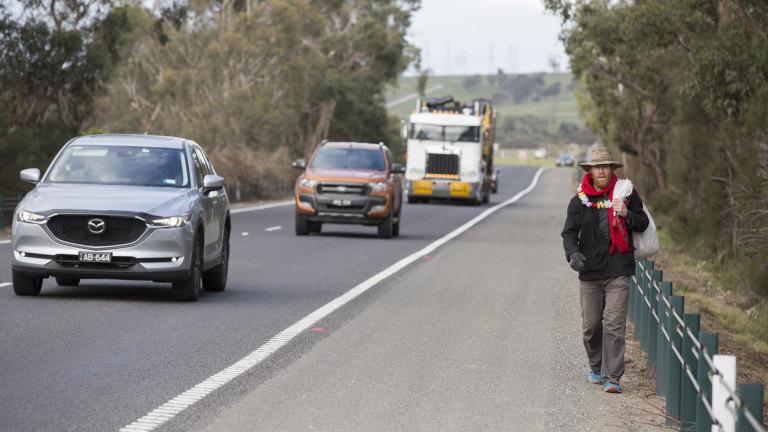 Monash University Professor Walks 90km To Work