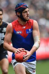 Melbourne's Angus Brayshaw ran himself ragged on Sunday.