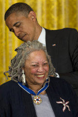 In 2012, US President Barack Obama awarded Toni Morrison with a Medal of Freedom.