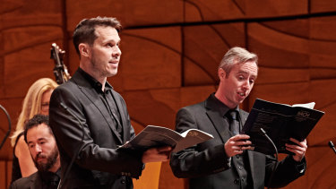 Pinchgut Opera's Bach and Telemann Concert at the Melbourne Recital Centre.