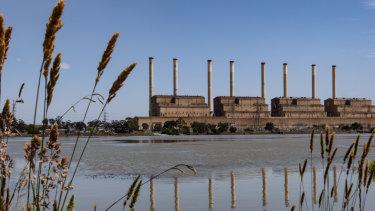 The now empty Hazelwood power station.