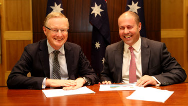 The RBA governor and Treasurer met in Melbourne on Thursday.