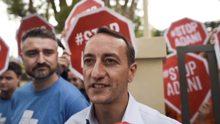 Liberal Party candidate Dave Sharma faced questions during the campaign about the government's commitment to climate change policies.