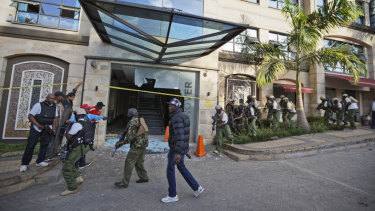 The attack, carried out by extremist group Al-Shabab, killed a number of people.