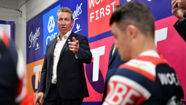 One for the true believers: Robinson singles out Cooper Cronk.