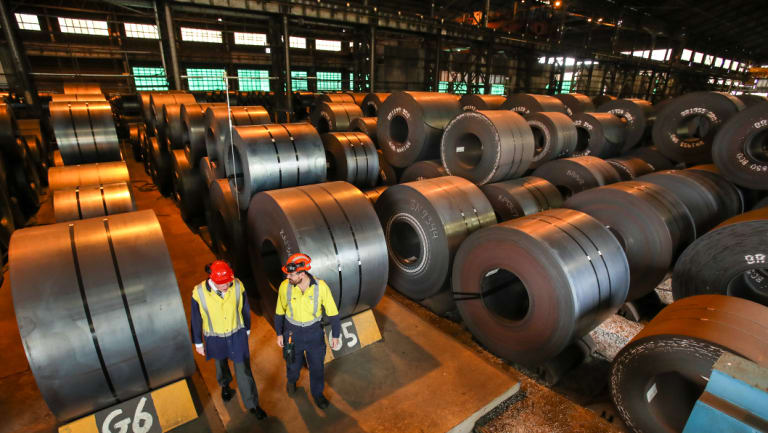 Steel company BlueScope this week posted its highest yearly profit since 2008.
