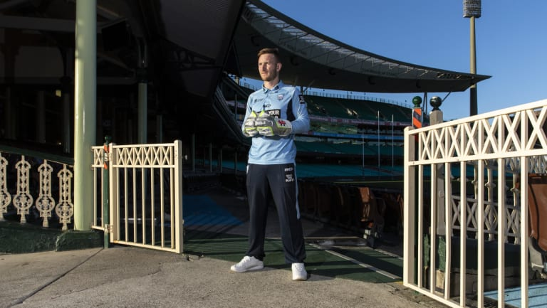 Skipper: Peter Nevill will captain the NSW Blues this season.