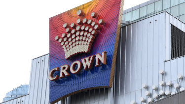 Crown Casino in Melbourne.